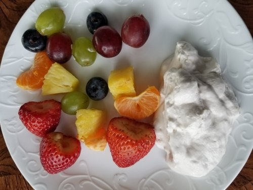 Light Fluffy Rainbow Cake Recipe